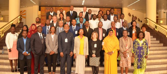ASSN Holds Workshop on Security Sector Governance and  Management (SSGM) for African CSOs